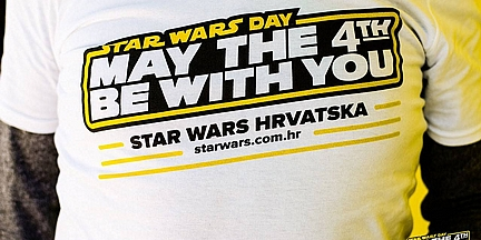 Pozivamo te na Star Wars dan - May the 4th